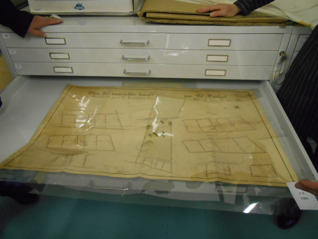 Document cadastral de la ville de Mazamet